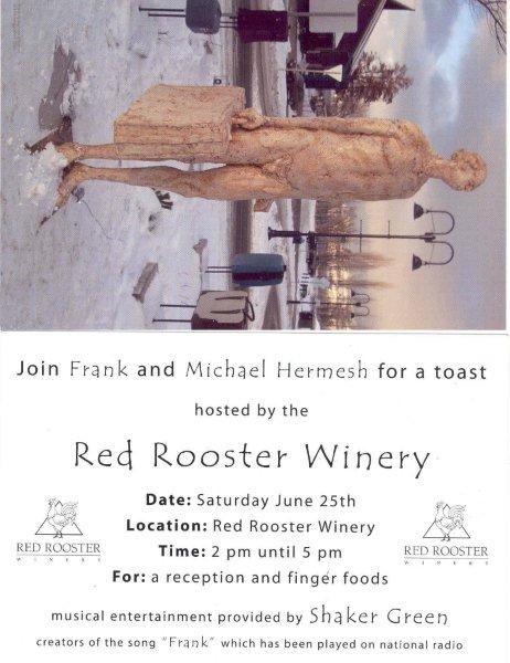 The Party Invite to the Red Rooster Winery