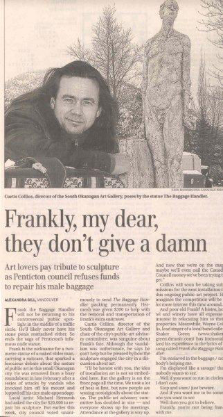 Globe and Mail March 26th 2005.